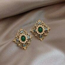 Women Drop Earrings  Big Brand Design Luxury Starburst Pendant Crystal Stud Gem Statement Jewelry Gifts