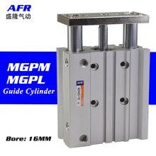 air Cylinder MGPM16-10Z MGPM16-20Z Thin cylinder with rod Three axis three bar  Pneumatic components MGPL16-10Z MGPL16-20Z