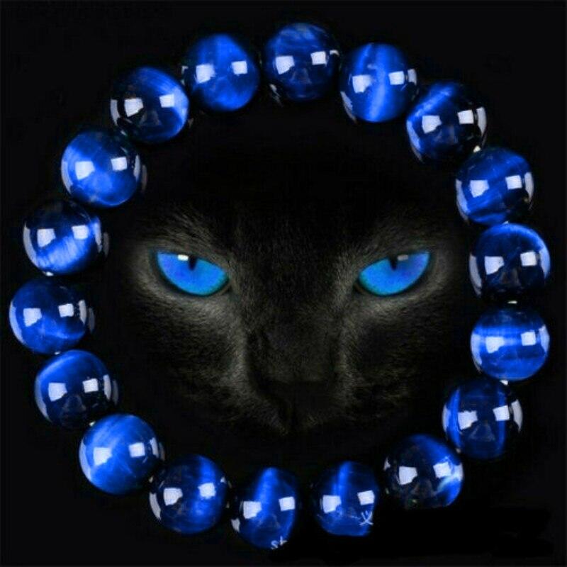 Gorgeous Blue Tiger Eye Bracelets