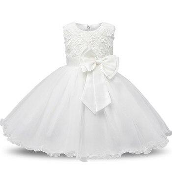 Princess Flower Girl Dress Summer Tutu Wedding Birthday Party Dresses For Girls Children's Costume Teenager Prom Designs 2