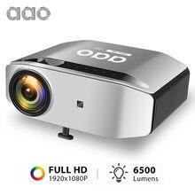 AAO – projecteur Full HD natif 1080p YG620 1920x1080P, YG621, WiFi sans fil, multiécran, pour Home cinéma 3D