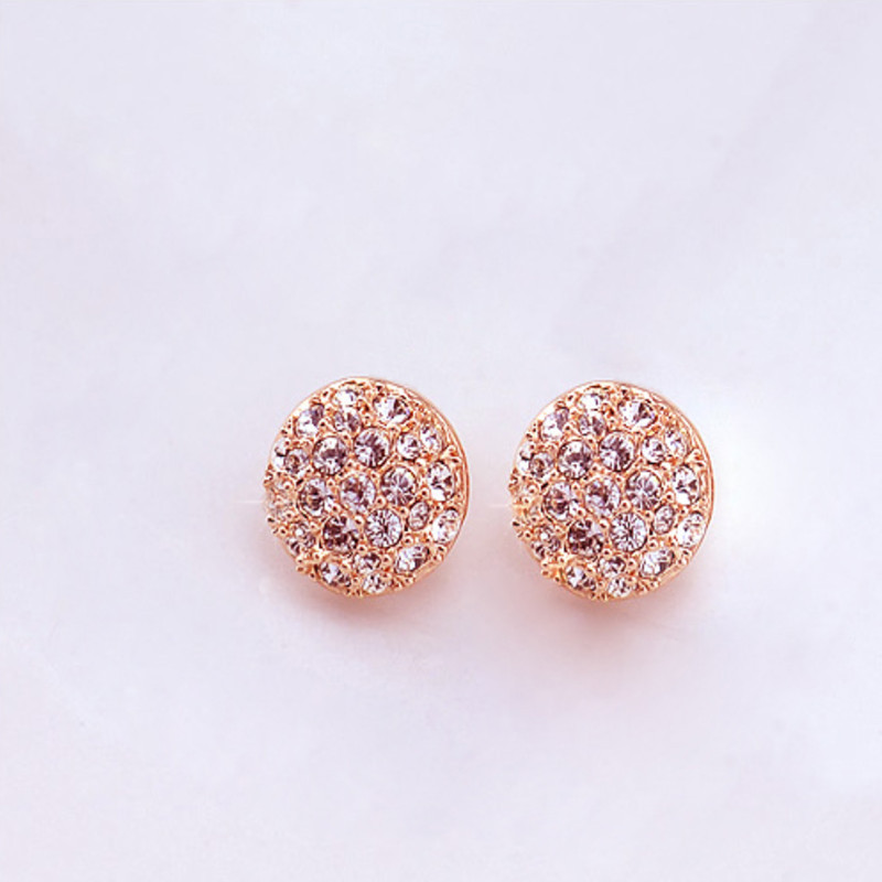 2020 New Aretes Brinco Earing Edition Is Small Adorn Article Refined Atmosphere Elegant Temperament With Drill Stud Earrings