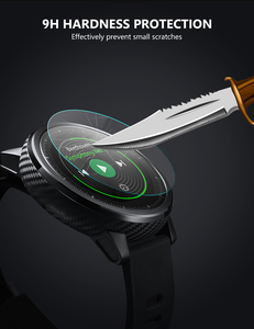 Прозрачное закаленное стекло 34-46 мм для большого циферблата, защита экрана, защитные Смарт-часы, защитная пленка для экрана, мужские часы, стеклянный экран