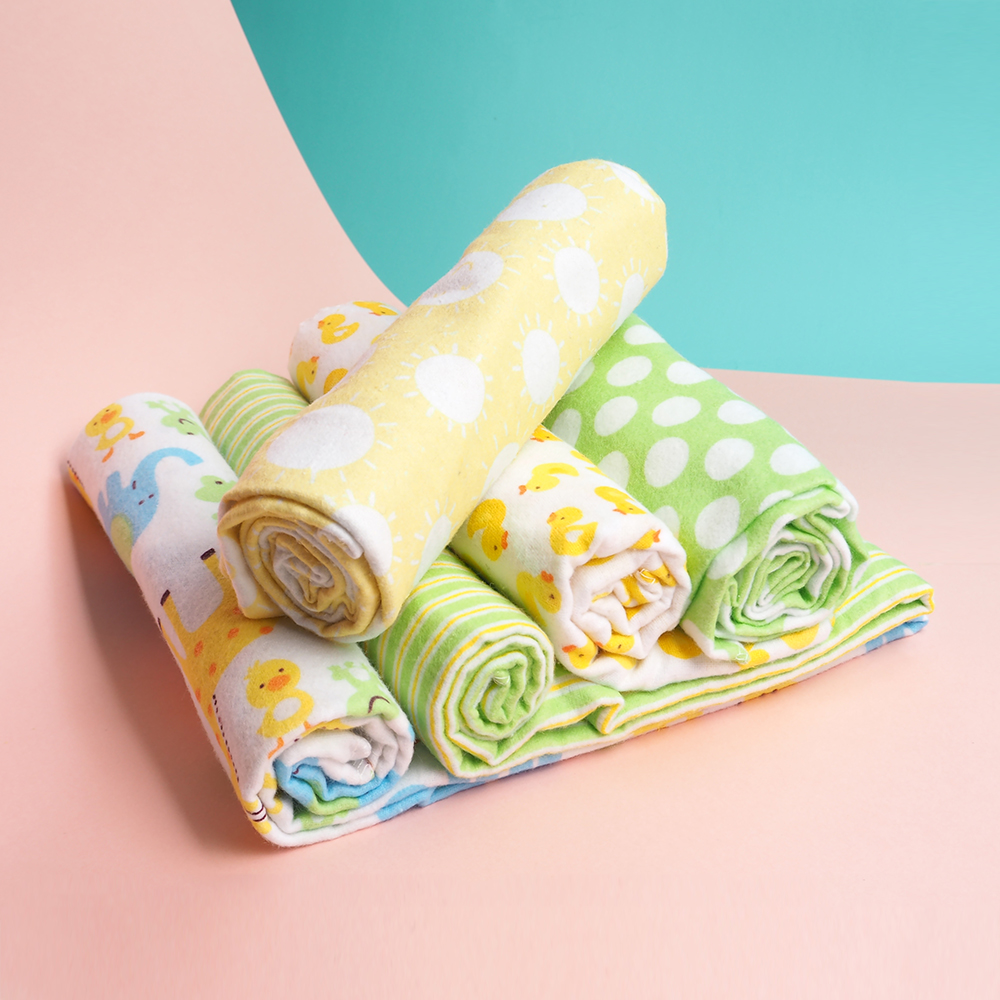 4 Pcs/Lot Baby Blankets Newborn Muslin 100% Cotton Flannel Muslin Diapers Baby Swaddle For Photography Newborn Blankets Wrap