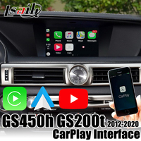 Lsailt Wireless CarPlay Interface for GS450h GS200t 2013 2020 with Android Auto support YouTube, OEM mouse&touch remote control