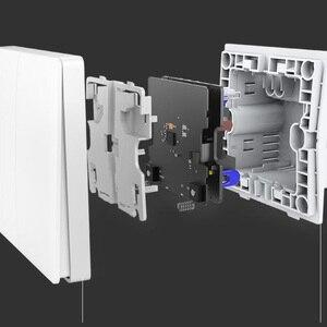 Image 5 - Aqara D1 Wandschakelaar Smart Zigbee Nul Lijn Fire Wire Licht Afstandsbediening Draadloze Sleutel Muur Schakelaar Voor Homekit Xiaomi mi Thuis