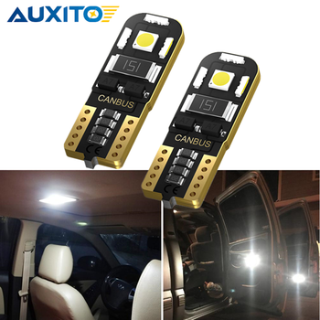 T10 w5w canbus car interior light 194 501 led Dome Light Door Lamp for Mercedes Benz W204 W211 W203 W210 W205 no error 12V 6000K image