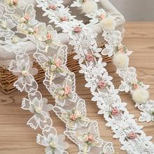 Garments-Accessories Bow-Flower Ribbon Decoration Wedding-Dress Diy-Craft Butterfly 1yard