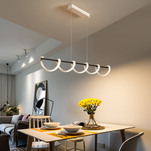 Modern chandelier lighting pendant loft aluminum LED chandelier lamp fixture for living room bedroom Dining Room Office modern chandelier led lighting remote ceiling chandelier lamp fixture for dining living room bedroom kitchen office hallway