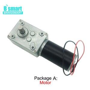 Image 2 - A58SW31ZY 7 470rpm dc 24v ワームギヤードモータ磁気モーター 1.6 70 キロ。センチ高トルク d シャフト 12v モータ回転テーブルドア自己ロック