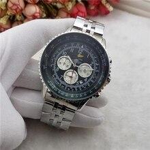 Luxury Brand Wristwatch Mens Watches Quartz Watch with Stain