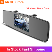 Xiaomi YI Mirror Dash Camera Car DVR Video Recorder WiFi Night Vision Dual HD Recording Dual Dashboard Car Camera