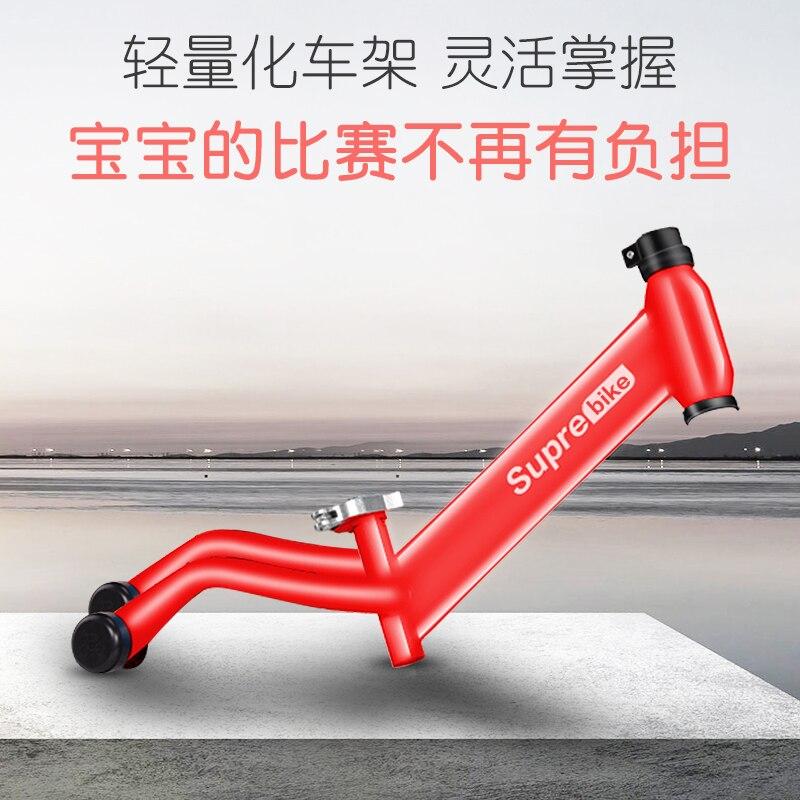 2020 nuevo 86X55X30cm fibra de carbono completa bicicleta de equilibrio para niños de dos seis años de edad - 3