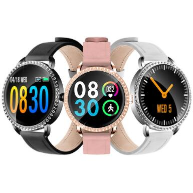 Leather Smart Band H7 Fitness Bracelet heart rate Blood Pressure smart Watch women Wristband Pedometer smart watches 2020 title=