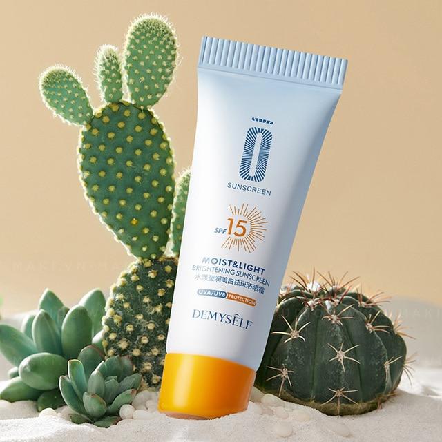 Anti-Aging Moisturizing Sunscreen Whitening Cream SP 15 Facial Sunblock Face Body Care Protective Cream Sunscreen Cosmetic Tools 5