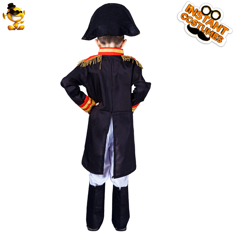 Boy's  Napoleon Costumes Cosplay Purim Party Performance Halloween Costumes for Kids Cosplay Child Napoleon General Clothes 2