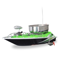 Outdoor RC Boat Fishing Nesting Fixed Speed Cruise Yaw Correction Ship Strong Wind Resistance LED Boat Searchlight EU Plug
