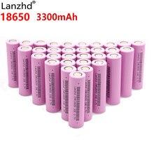8-40PCS 18650 baterie 3300mah INR18650 3.7V akumulator baterii Li jonowy akumulator litowo-jonowy 18650 30a prąd o dużym napięciu 18650VTC7 35E