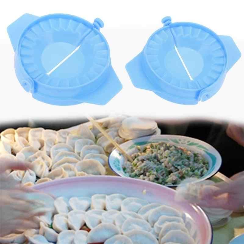 ポータブル団子メーカーの金型食品グレードプラスチック金型生地プレス餃子ラビオリ金型餃子製造クリップキッチン用品