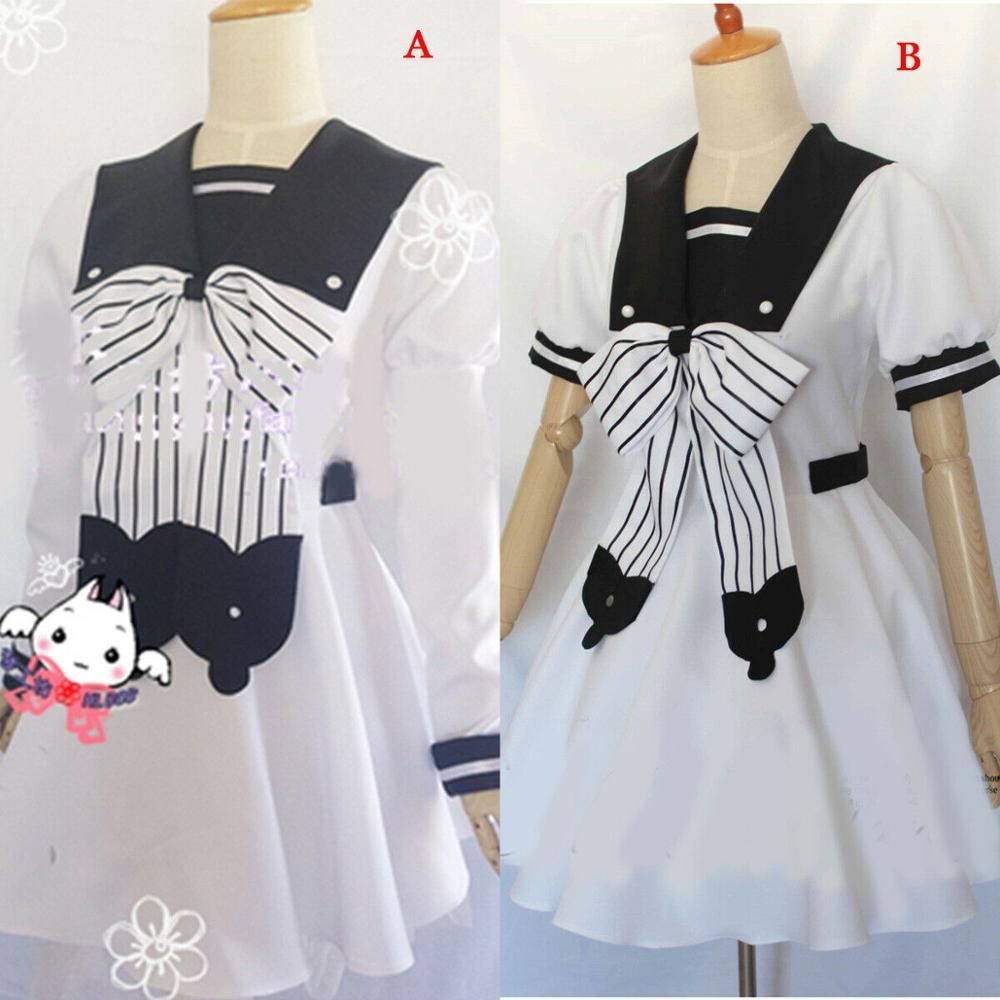 Anime toilette lié Jibaku Shounen Hanako Kun Nene Yashiro Cosplay Costume femmes blanc uniforme robe Halloween carnaval Costume