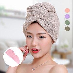 Image 2 - GIANTEX женские полотенца ванная комната полотенце из микрофибры полотенце для волос банные полотенца для взрослых toallas servitte de bain recznik handdoeken