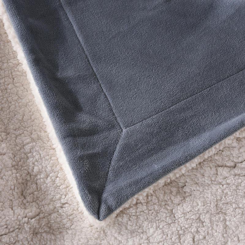 Plaid couverture de lit d'hiver très épaisse