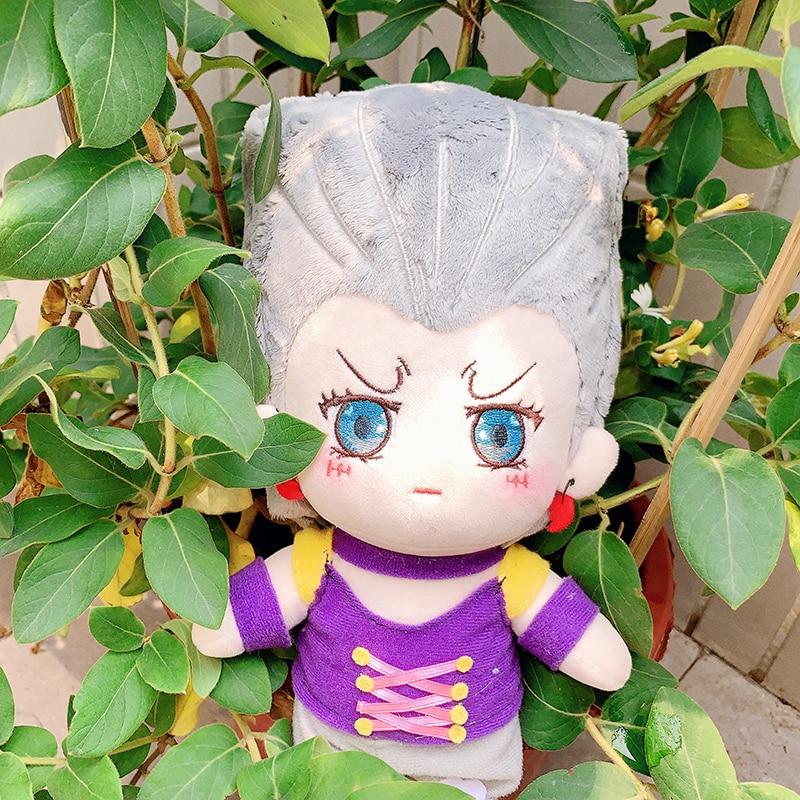 Anime JoJo/'s Bizarre Adventure Silver Chariot Plush Doll Soft Doll Toy Gift