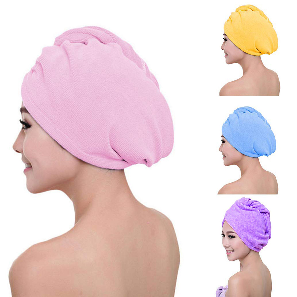 RAPID DRYING HAIR TOWEL Thick Absorbent Shower Cap HOT 【BUY 2 GET 2 FREE】-USA
