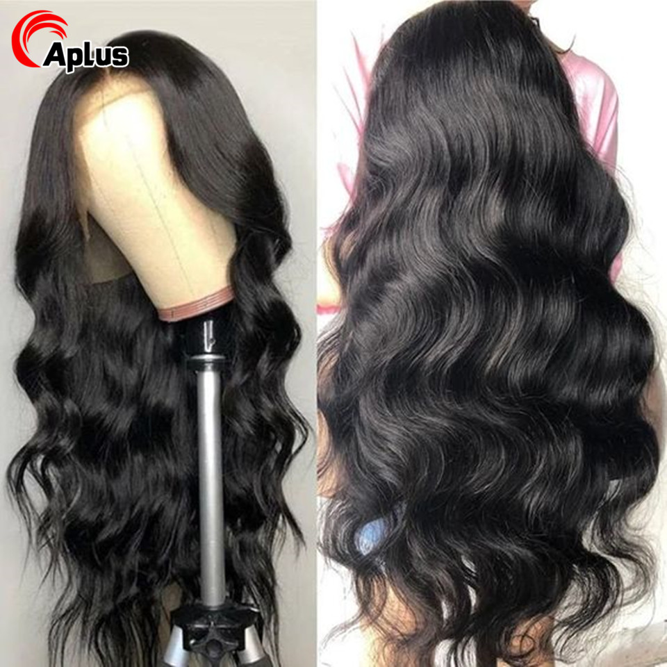 4x4 Lace Closure Wig 30 inch Peruvian Body Wave Transparent Lace Wig Glueless 5x5 6x6 Lace Closure Human Hair Wigs Preplucked150
