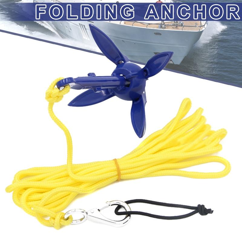 Folding Anchor Fishing Accessories For Kayak Canoe Boat Marine Sailboat Watercraft C44