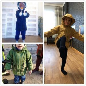 Image 5 - Benemaker Kinderen Winter Outdoor Fleece Jassen Voor Jongens Kleding Hooded Warm Bovenkleding Windjack Baby Kids Dunne Jassen YJ023