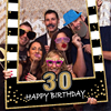 1 16 18 21 30 35 40 50 60 Birthday Photo Booth Frame Kids Adult Birthday Party Decoration Paper Happy Birthday Photo Props Frame