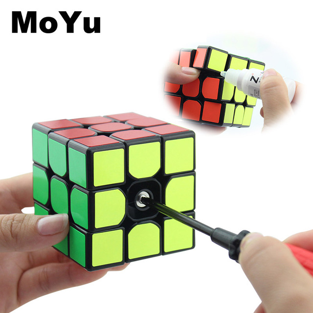 New MoYu 3x3x3 magic cube puzzle cubes professional speed cubo magico educational toys for students MF3SET 4