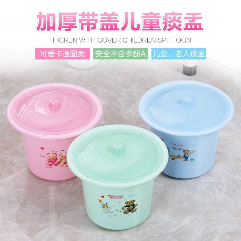 Children With Lid Spittoon Baby Toilet Simplicity Urinal Will Glenoid Baby Toilet Infant Potty Kids Chamber Pot