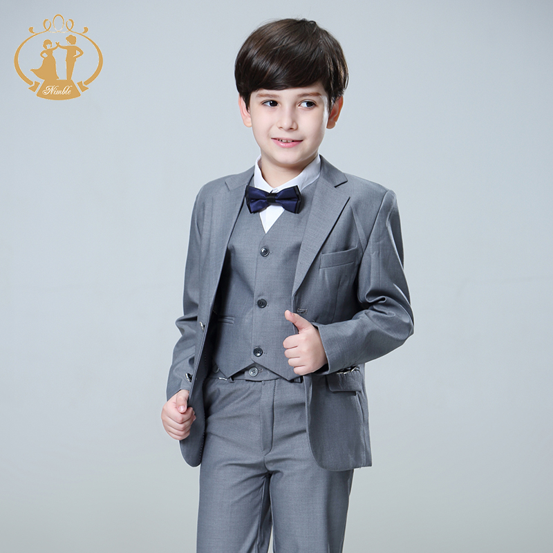 Nimble Suit For Boy Terno Infantil Boys Suits For Weddings Costume Enfant Garcon Mariage Disfraz Infantil Boy Suits Formal 2019