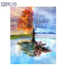 Sdoyuno 40x50 см картина маслом по номерам для взрослых и детей