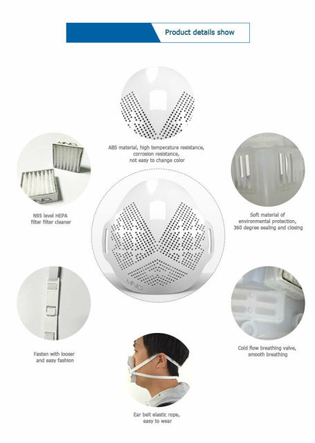Face Mask Protective mask reusable anti-fog mask dust mask into population mask anti-flu dust filter 4
