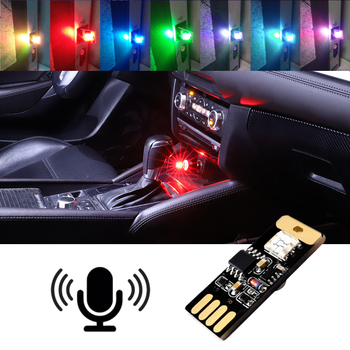 Car Ambient Tube Lamp USB Interior Light Atmosphere For BMW X1 X3 X5 F10 F01 F11 F20 F30 E34 E36 E87 E39 E60 E46 E90 E92 Decor image