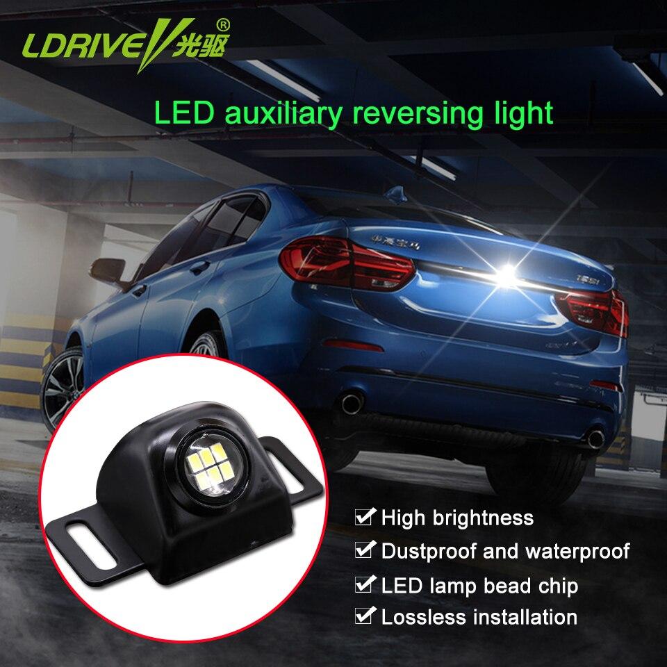 5 w carro led rogue revers lente de luz ultra brilhante alta potência auxiliar olho elétrico externo lâmpada da cauda do carro para todos os carros 1 pcs