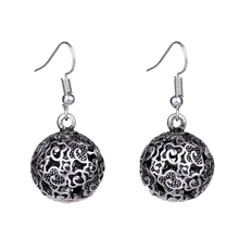 EQ060 Unique Tibetan Silver Hollow Clouds Fashion Retro Vintage Earrings For Women  Wholesale 2014 NEW Jewelry