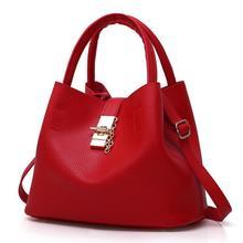 fondhere Large Capacity Women PU Shoulder Bags Bucket Bag High Quality Luxury Handbags Designer