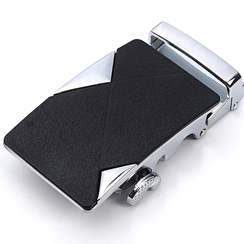 New Arrival Men's Business Alloy Automatic Buckle Unique Men Plaque Belt Buckles For 3.5cm Ratchet Men Apparel Accessories