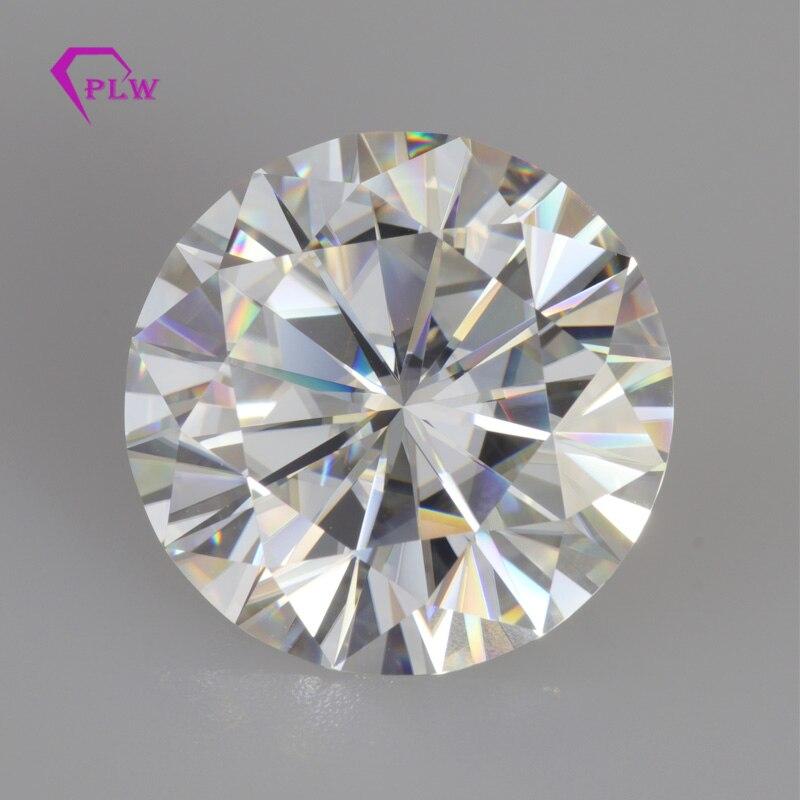 Incluye la certificación de alta calidad precio de venta 0,5 quilates 5mm D Color VVS 3ex corte brillante Moissanite para anillo pulsera-in Diamantes y piedras preciosas sueltas from Joyería y accesorios    1