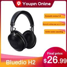 Bluedio H2 אלחוטי אוזניות פעיל רעש ביטול Bluetooth 2020 מוגדר משתמש מקורי אוזניות עבור טלפונים סלולריים חדש