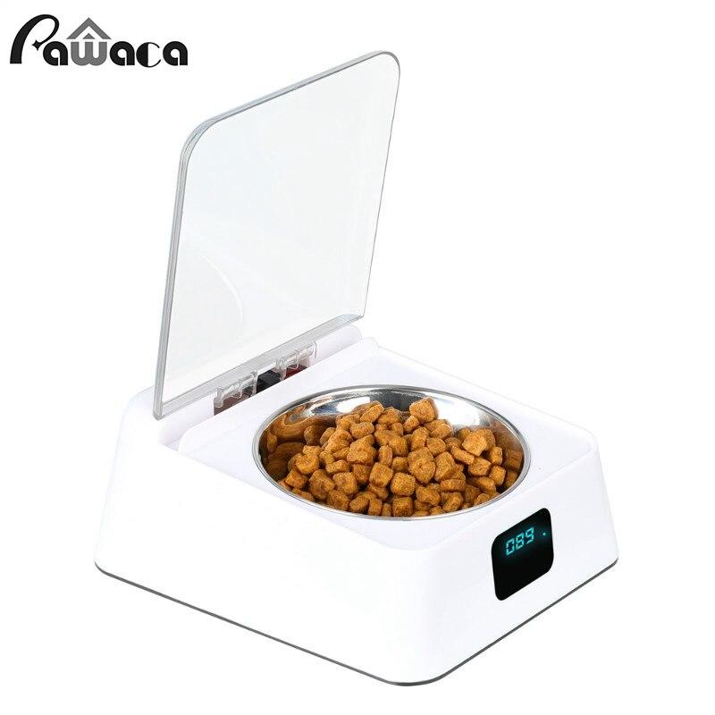 Pet Dog Cat Автоматический Питатель корм для домашних животных инфракрасный дозатор автоматический сенсорный выключатель крышка Анти мышь вла