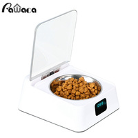 Pet Dog Cat Automatic Feeder Pet Food Dispenser Infrared Auto Sensor Switch Cover Anti mouse Moisture proof Intelligent Bowl