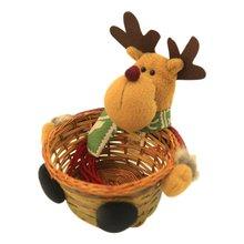 Basket Decoration Gift Christmas-Candy Santa-Claus