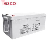Long life 20hr 12V 250ah Deep Cycle AGM GEL Battery for Inverter Home System