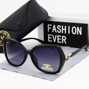 Image 2 - Kadın gözlük güneş gözlüğü polarize moda bağbozumu 2019 yeni marka tasarımcısı kadın sürüş güneş gözlüğü UV400