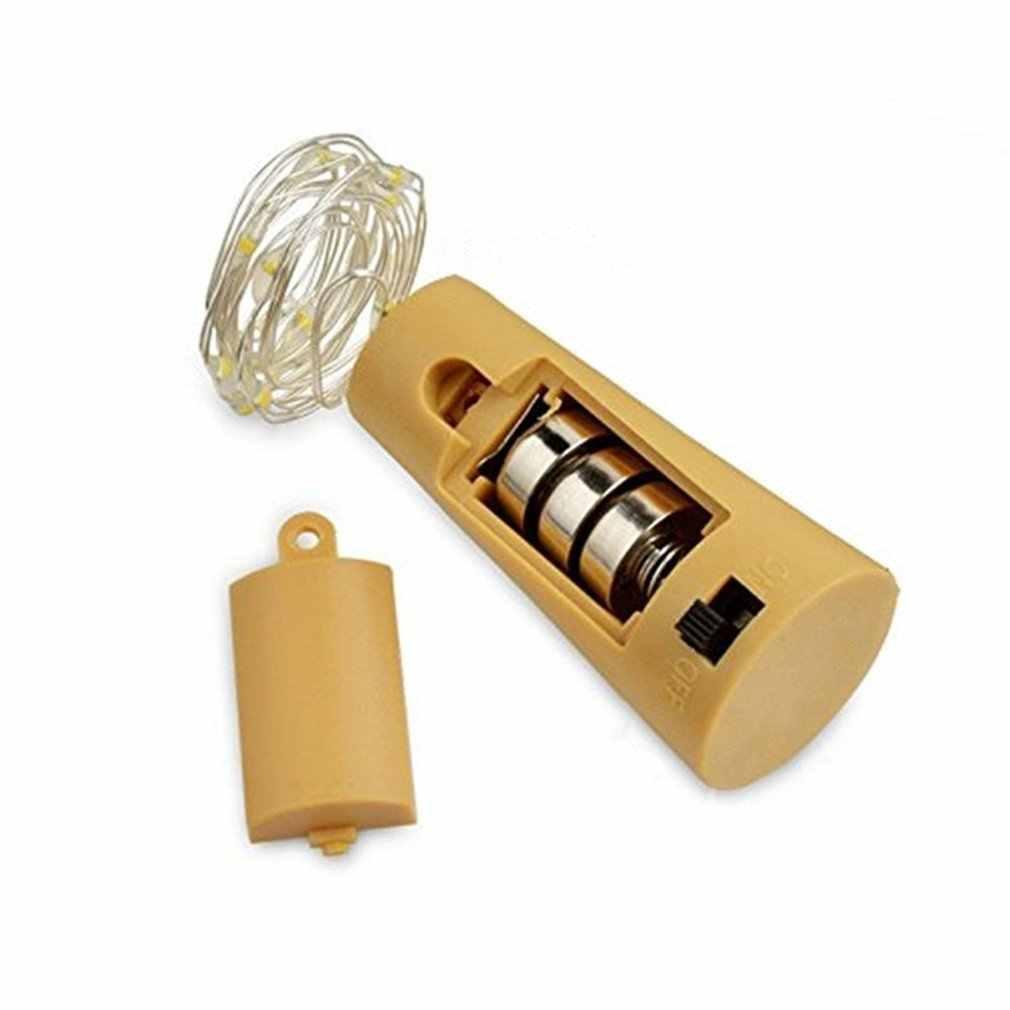 ขวดไวน์โคมไฟ LED String ไฟ LED PARTY Xmas โคมไฟตกแต่ง Garden YARD โคมไฟ